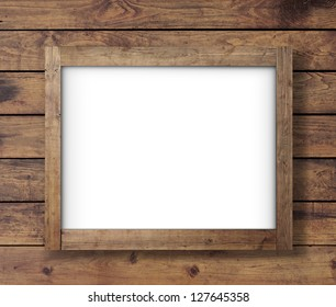 wall wood texture with crafted poster