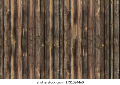 wall of wooden boards old weathered seamless texture