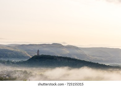 Wallace monument in Scotland, UK