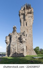 Wallace Monument in Sterling