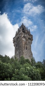 Wallace Monument in Stirling, Scotland honouring William Wallace