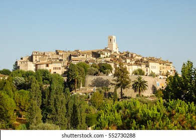 The walled city of St Paul de Vence on the French Riviera