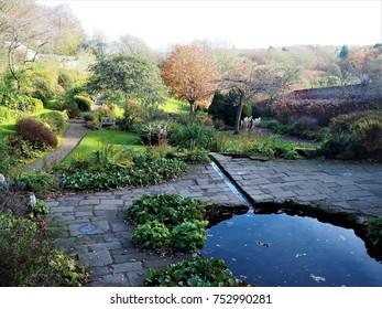 Walled garden, Wallington, Northumberland, UK