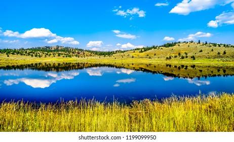 Wallender Lake along the Lac Le Jeune Road near Kamloops, British Columbia, Canada
