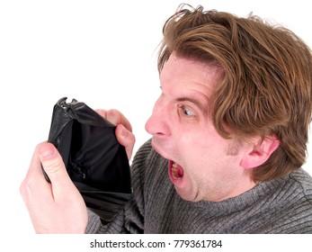 Wallet Broke Man