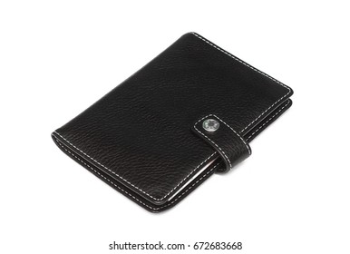 Wallet isolated on white background.