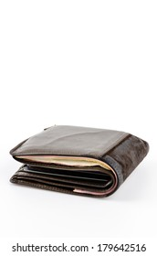 Wallet isolated white background