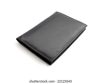 wallet isolated in white background