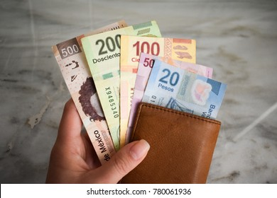 Wallet - Mexican pesos