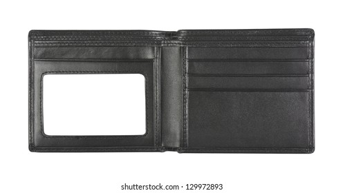 wallet for put card on white background, isolated