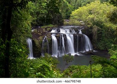 Wallicher Falls, Wooroonooran National Park, Queensland, Australia