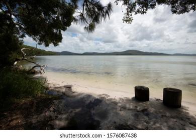 Wallis Lake view from Pacific Palms Australia