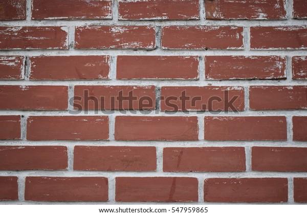 Foto De Stock Sobre Wallpaper Brick Texture Red Orange