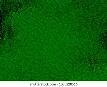 Wallpaper with dollar symbol letters, abstract green texture