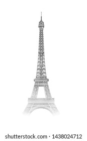 Wallpaper from Famous building, the Eiffel Tower.