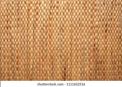 wallpaper showing rustic texture of dried water hyacinth handcraft placemat.