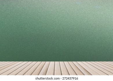wallpaper and wooden floor - reflection room interior design shiny plank blank gray background backdrop smooth surface sheet