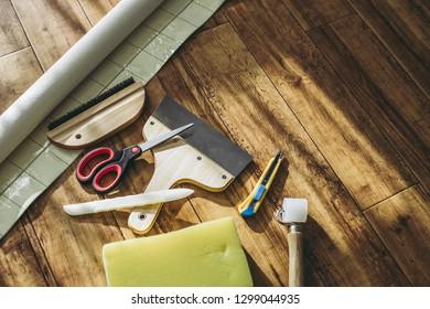 Wallpapers DIY tools