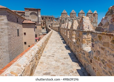 Walls of Avila in Spain - A UNESCO World Heritage Site