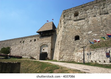The walls of Castle of Eger, Hungary