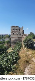The Walls of Constantinople are a series of defensive stone walls that have surrounded and protected the city of Constantinople (today Istanbul) since founded as the new capital of the Roman Empire.