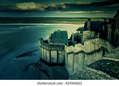 Walls of a fortress