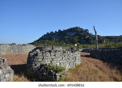 Walls in Great Zimbabwe,