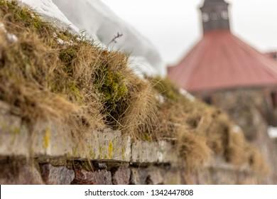 Walls of Karela fortress, Priozersk