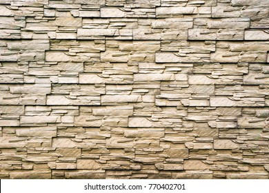 The walls are made of stones arranged. Remote view