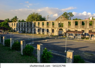 Walls of the old city of Intramuros in Manila, Philippines