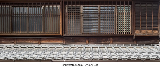 The walls pattern made in edo period have a pattern old style and identity