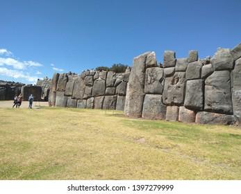 Walls at Sacsayhuaman, Cusco, Peru