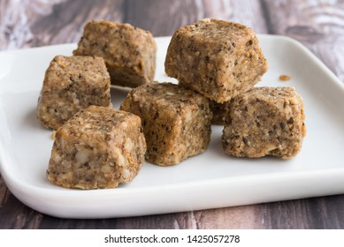 Walnut Hemp Energy Bite Squares
