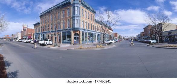 Walnut & Linden Streets, Fort Collins (inspired Disneyland's Main St. USA), New York