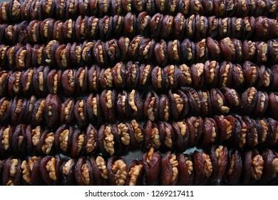 Walnuts and Apricots. Malatya / Turkey