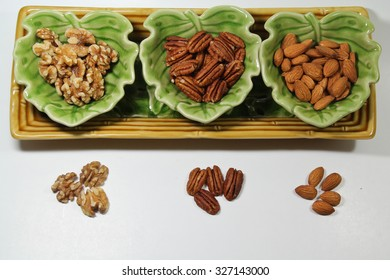 Walnuts, Pecans and Almonds