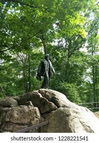Walt Whitman Statue