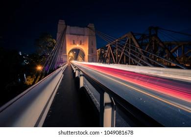 Walter Taylor Bridge also known as Indooroopilly Bridge in Brisbane, Queensland.