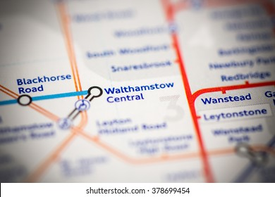 Walthamstow Central Station. London Overground. London. UK.