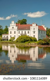 Wanas Slott is a castle in Ostra Goinge Municipality, Scania, in southern Sweden. It is situated to the west of Knislinge.