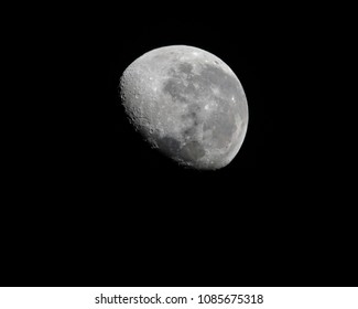 Waning Gibbous Moon 81.1% over the Central Coast, NSW, Australia.