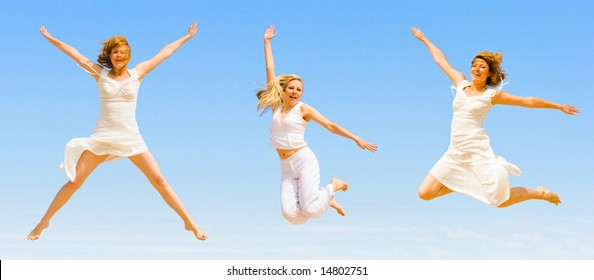 """wanna jump forever -  of  """"Sport and fitness"""" series in my portfolio"""
