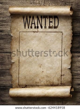 wanted reward poster の写真素材 今すぐ編集 624418958 shutterstock
