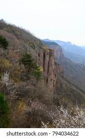 Wanxian mountain Scenic spot natural scenery, China