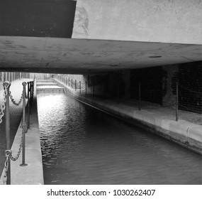 Wapping Tobacco Docks waterway