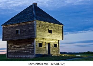 War era blockhouse