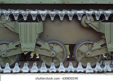 war machine tank wheels closeup metal military equipment vehicle