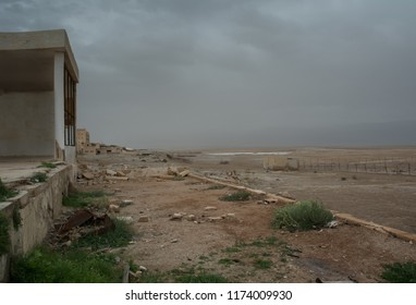 War zone landscape