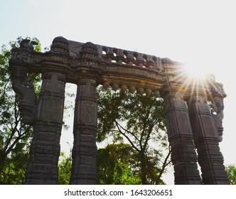 warangal fort gate, Kakatiya's kala thoranam