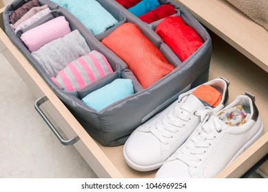 wardrobe drawer organizer